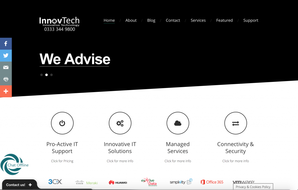 InnovTech Website